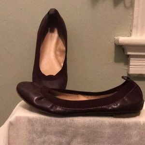 Banana Republic flats size 8.5 plum color